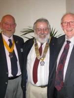 Handover Malcolm, Bill & David