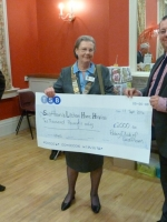 Cheque to Sw & L Home Hospice